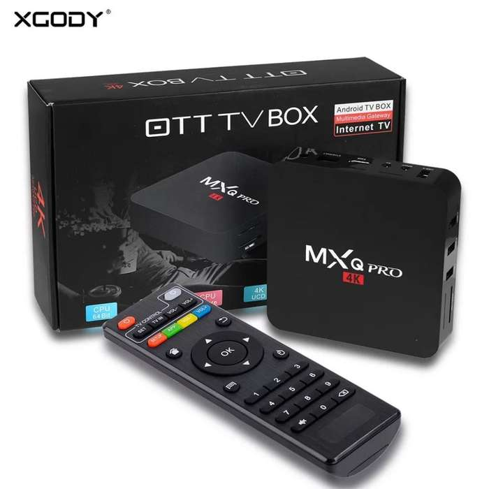 Tv Box Mxqpro 4k 2gb Ram