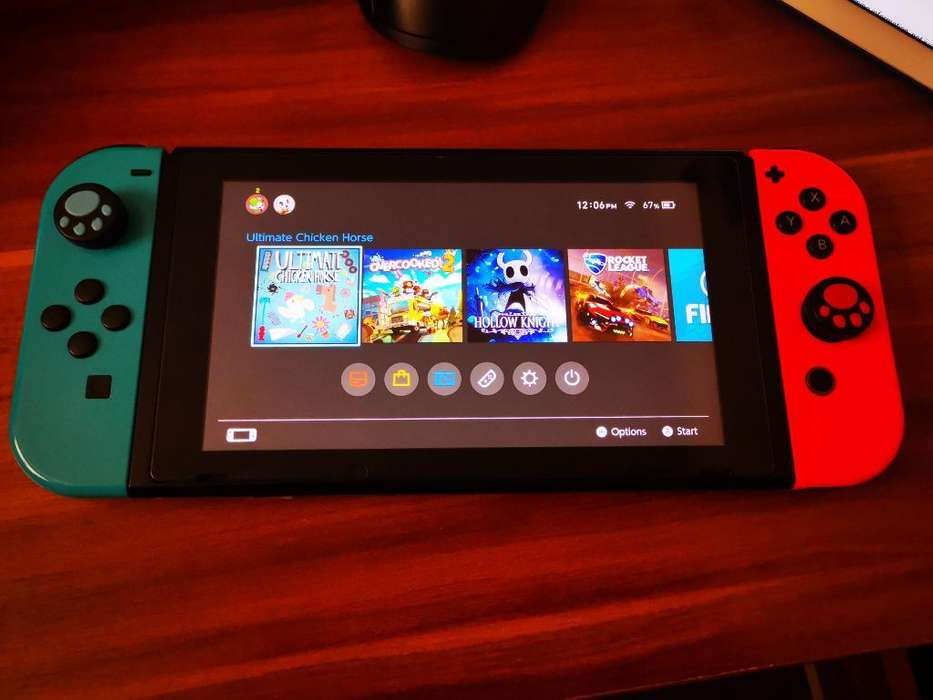 Nintendo Switch con Todos Sus Accesorios
