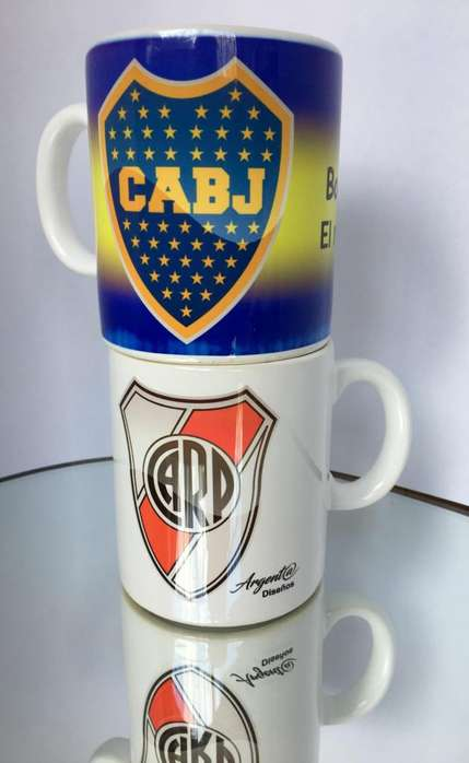 Tazas Mug de Futbol Boca - River