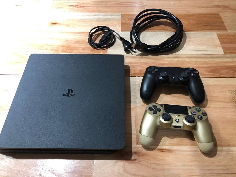 Ps4 Slim 500Gb 6 juegos 2 joysticks