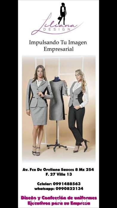 Confección de uniformes empresariales ejecutivos