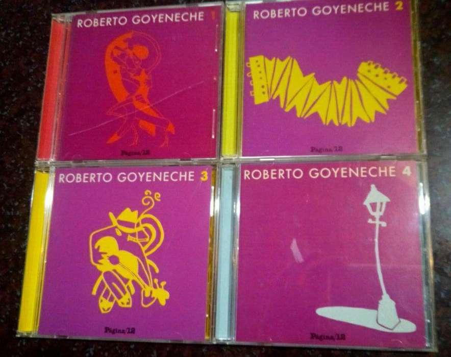 COLECCION DE CDS DE ROBERTO GOYENECHE