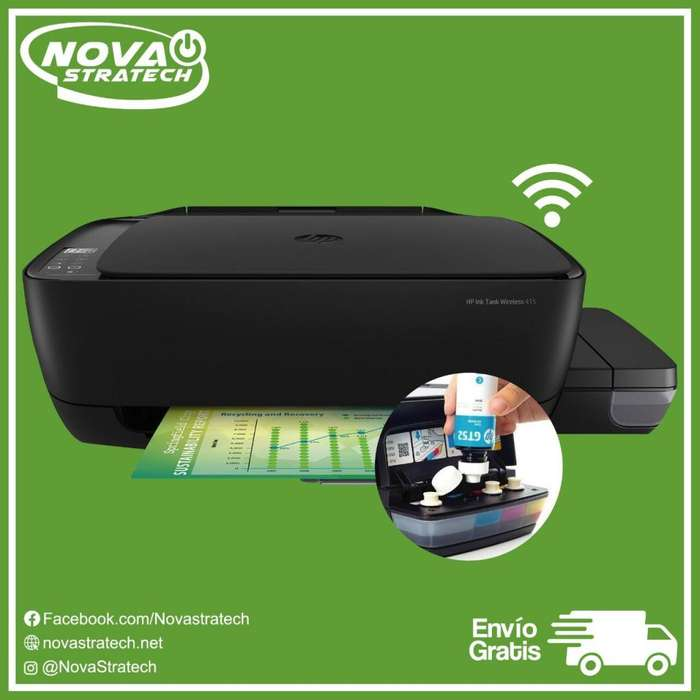 Impresora Hp 415 Ink Tank con Wifi Gratis Envio Tinta Continua De Oferta Gratis Envio