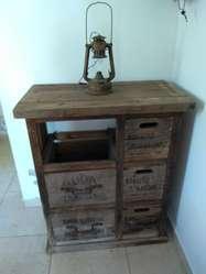 Mueble Aparador Antiguo de Sifones
