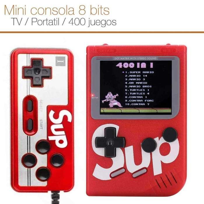 Consola Portatil Game Boy 400 Juegos