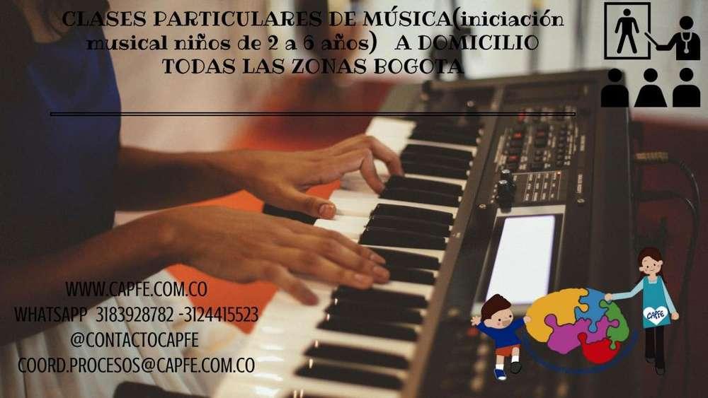 CLASES PARTICULARES DE MUSICA,TALLERES DE ARTE TEATRO ENTRE OTROS