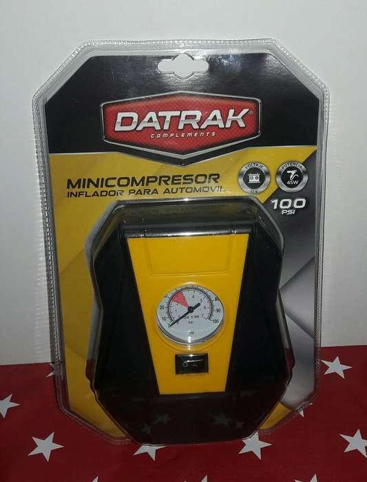 Minicompresor para Neumáticos Y Pelotas