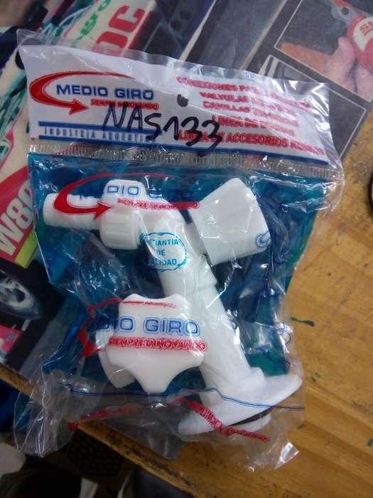 Canilla para Lavarropas Plastica
