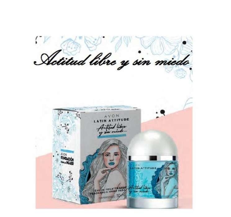 Perfume Latín Attitude de Avon