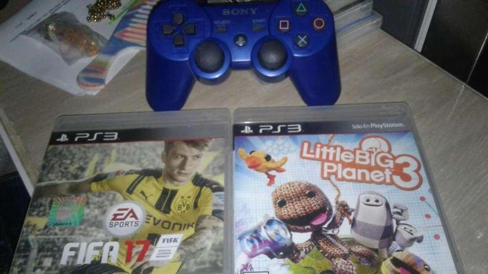Control Play 3 Original Mas Juegos