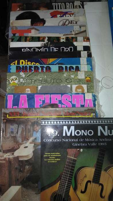 LP y DVDs ORIGINALES