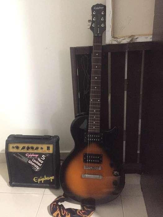 Guitarra Y Amplificadorepiphonespecial 2