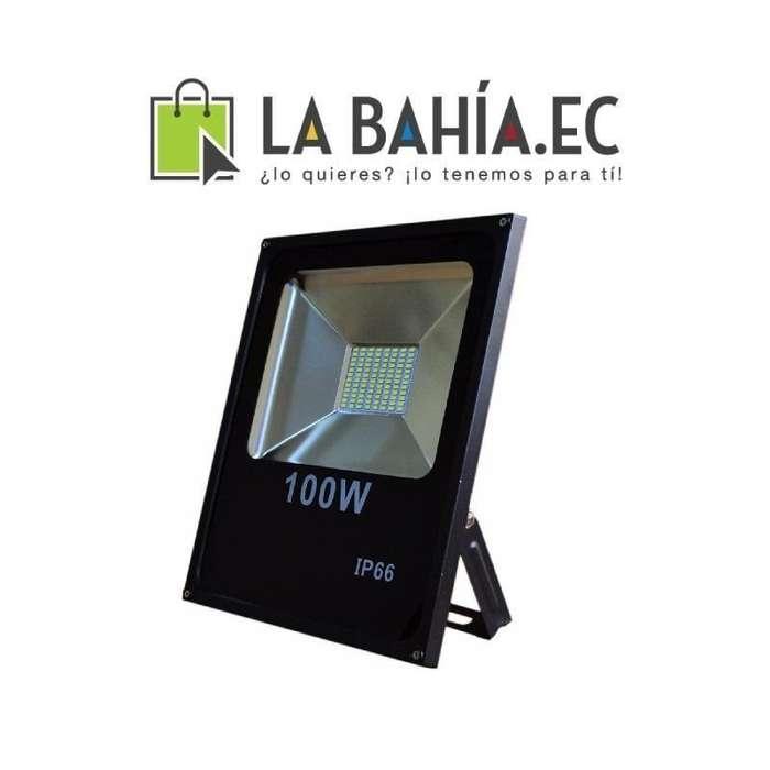 Reflector Led Bajo Consumo Eléctrico Doble De 100w 10000hrs