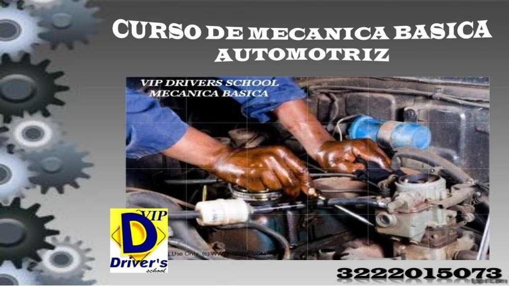 CURSO DE MECÁNICA BÁSICA AUTOMOTRIZ CERTIFICADO POR EL MINISTERIO