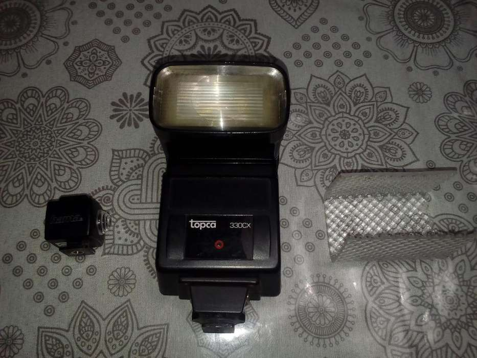 Flash Topca 330cx con Fotocélula Hama