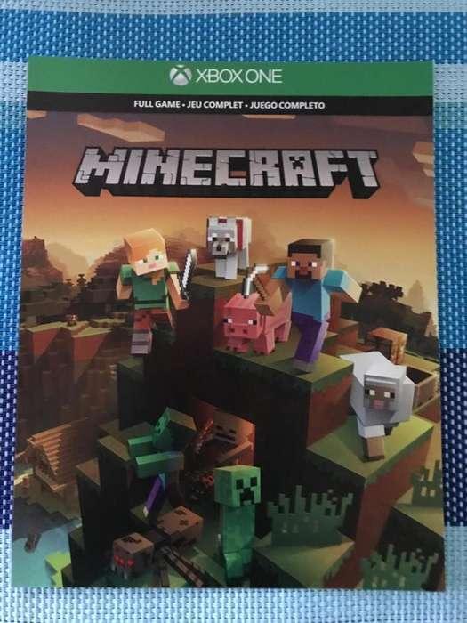 Minecraft Para Xbox One Juego Completo Y Más Packs.!
