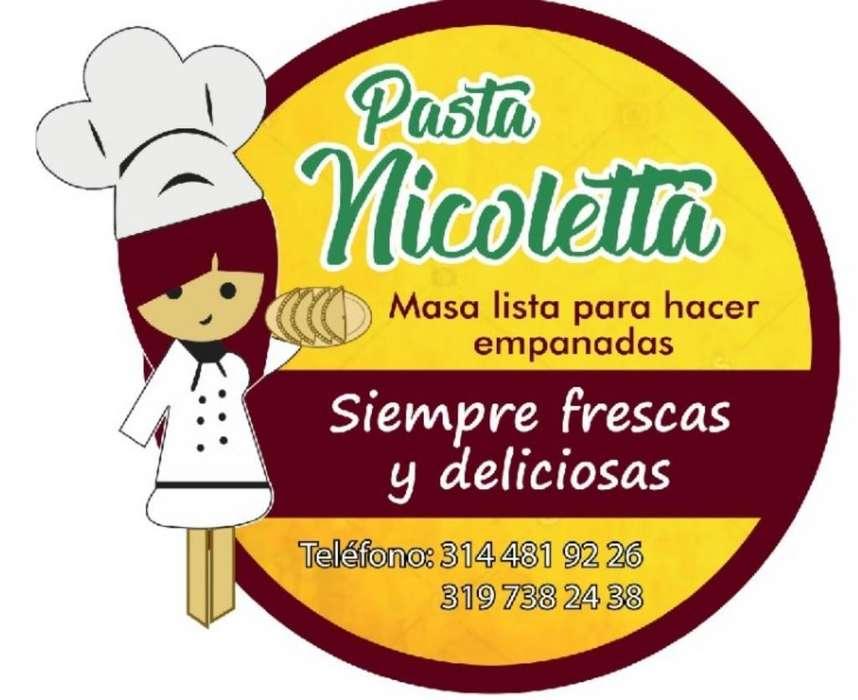 Pasta Masa para Empanadas Nicoletta