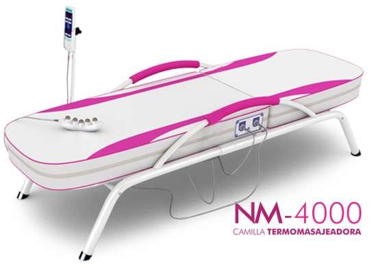 !!Camilla Termomasajeadora NUGA BEST NM 4000!!! MUY BUEN ESTADO!!!