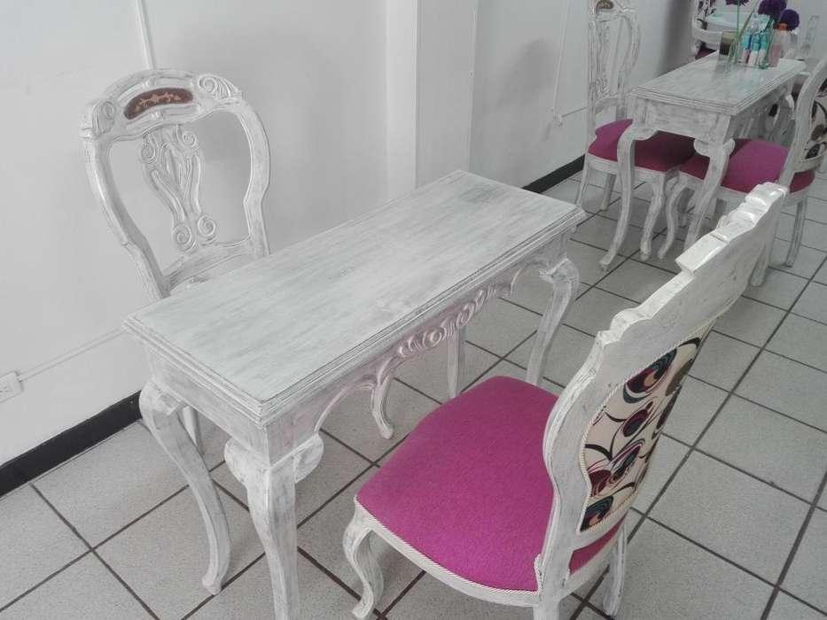 Muebles Isabellinos Modernos Para Spa De Uñas - ZIPAQUIRÁ