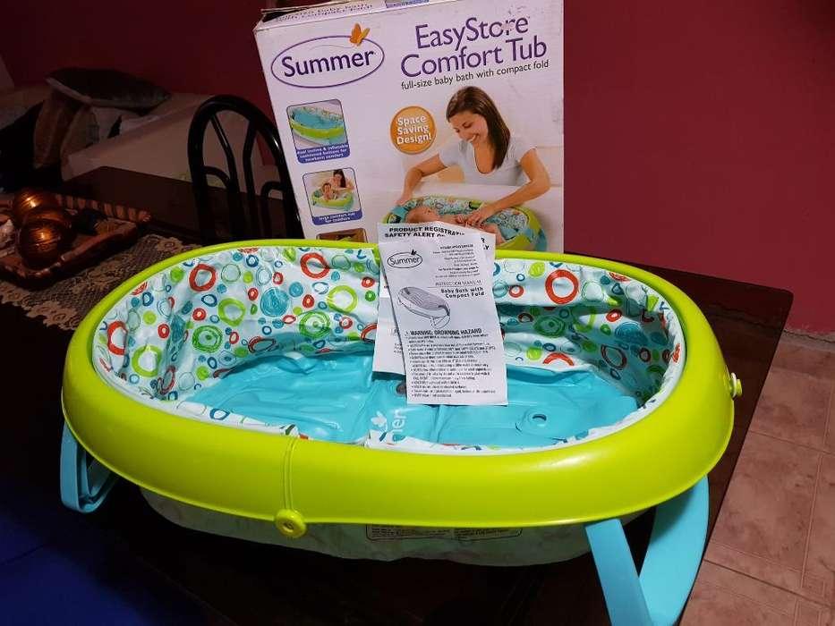 Bañera Inflable Desarmable Bebé