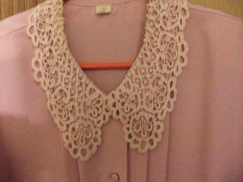 <strong>camisa</strong> rosa manga corta talle 4 amplia sin uso