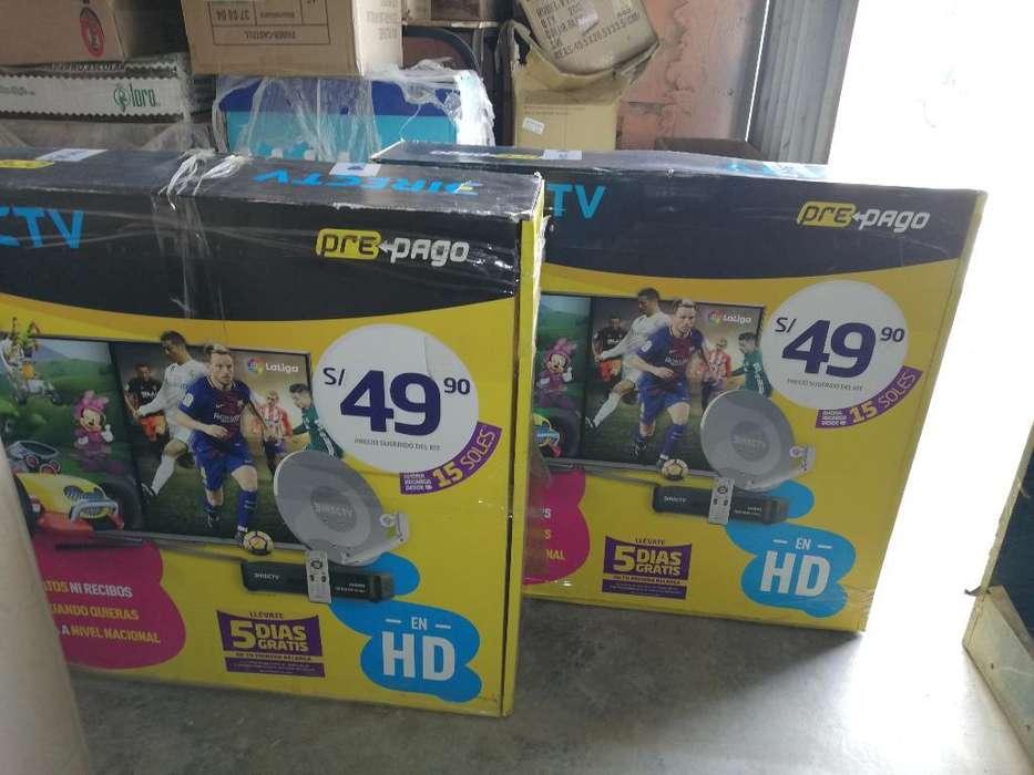 Vendo Kit Directv Hd Prepago Nuevo