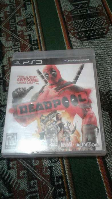 Vendo Juego Ps3 Deadpool 600 ,godwar400