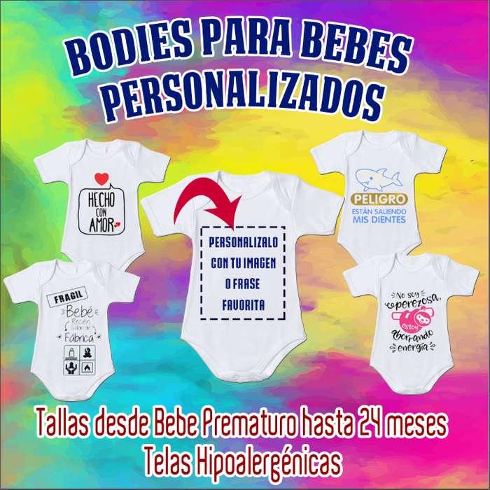 Bodies para Bebes Sublimados y Personalizados