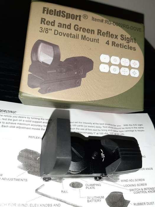 Mira Tactica Acople en Rifles O Pistolas
