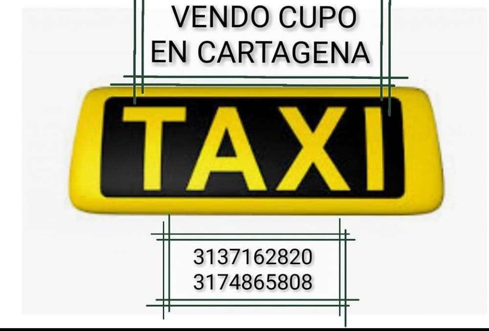 Venta cupo taxi