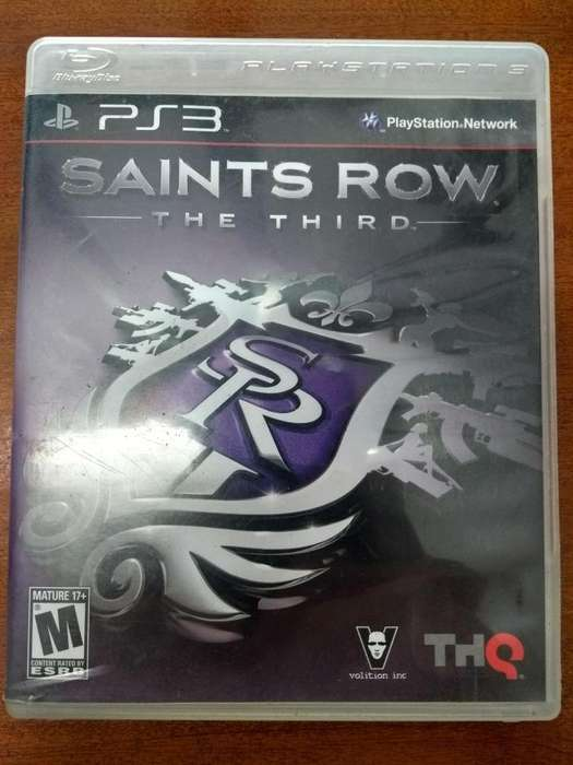 Juego Saints Row The Third PS3 Original