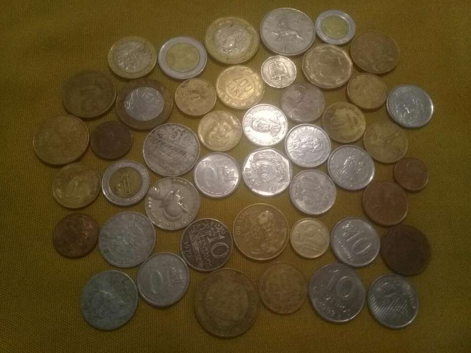 Monedas Varios Paises