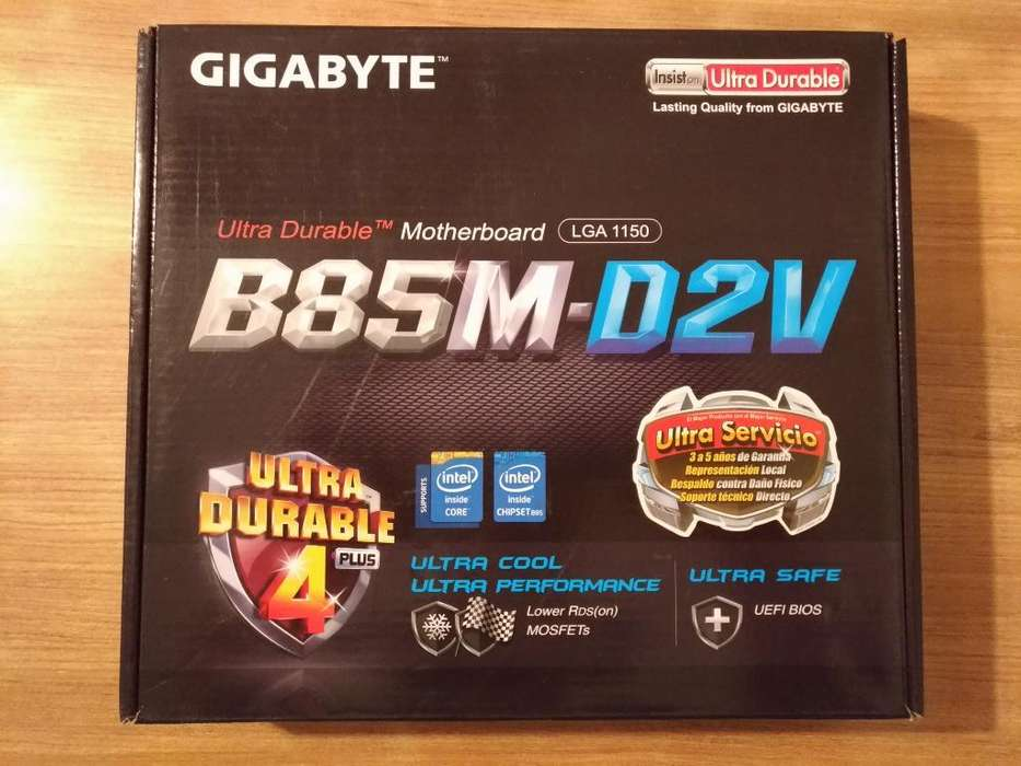 Motherboard Gigabyte B85m-d2v