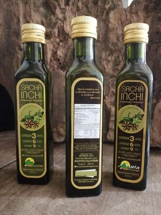Aceite Sacha Inchi 250ml