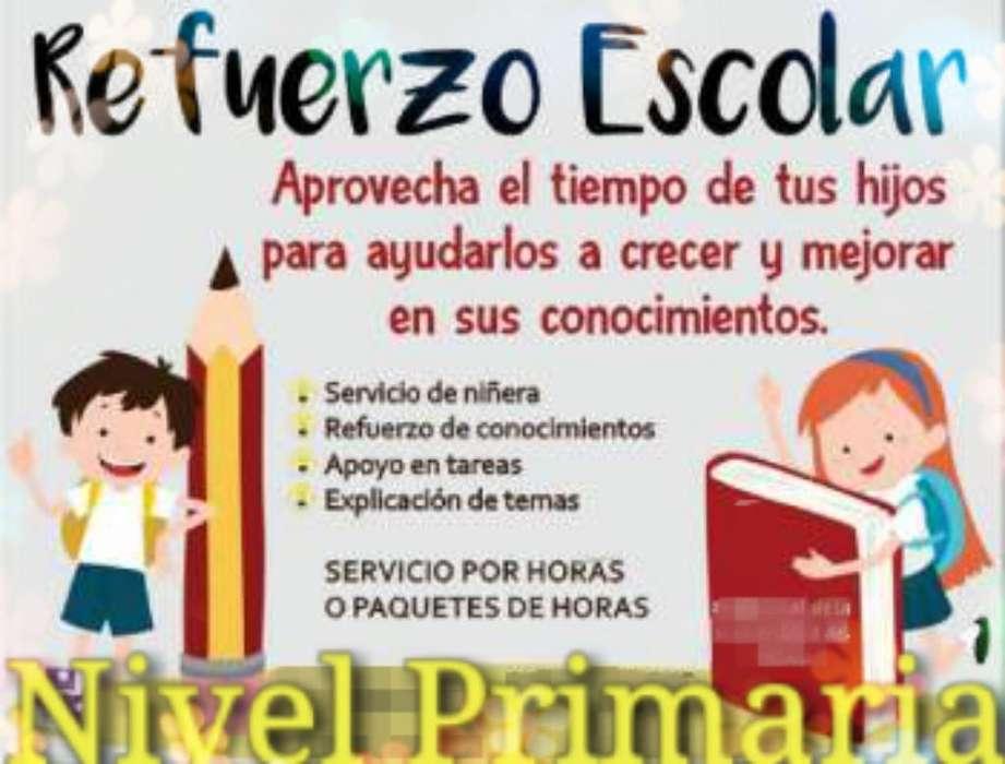 Servicio de Niñera Y Refuerzo Escolar