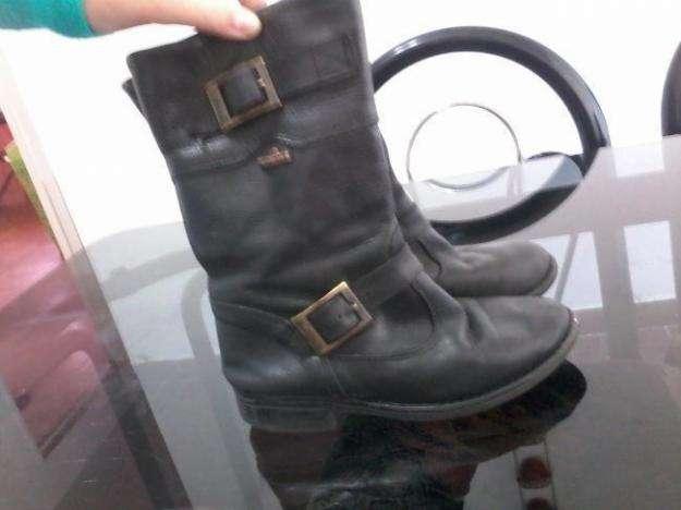 botas botanguita de cuero