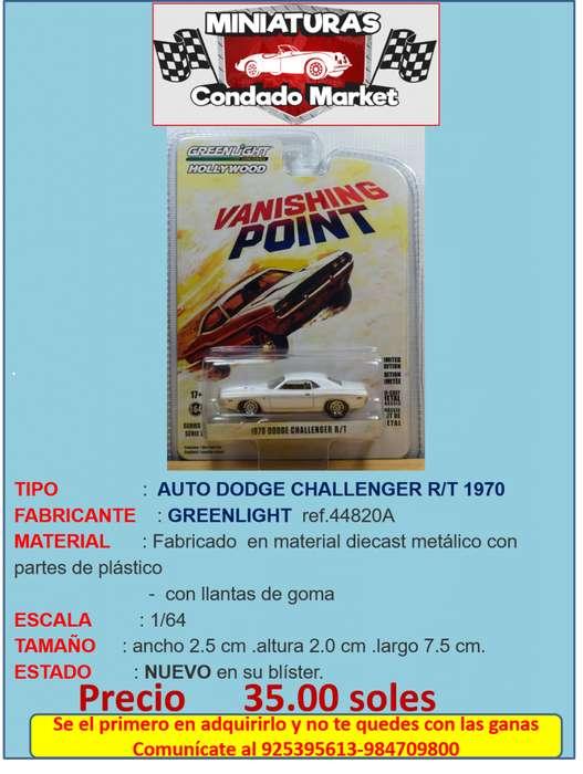 AUTO DODGE CHALLENGER R/T 1970