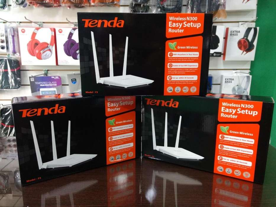 Router inalambrico Tenda F3 triple antena – Alonso <strong>informatica</strong>