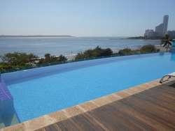 Apartamento En Arriendo En Cartagena Castillogrande Cod. ABARE75673