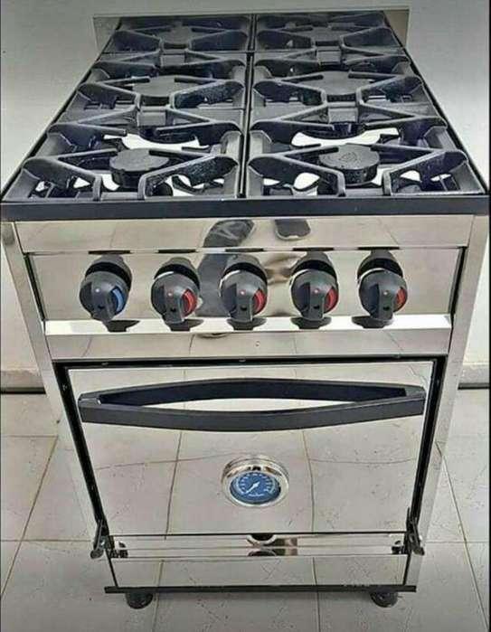 <strong>cocina</strong> 4 Hornallas Industrial Acero Inox