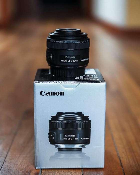 Lente Canon 35mm Macro F2.8