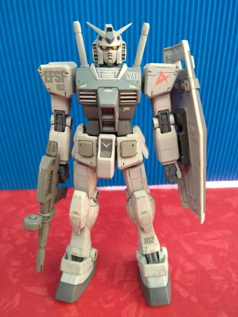 Lote #8 Gundam RX-78-3