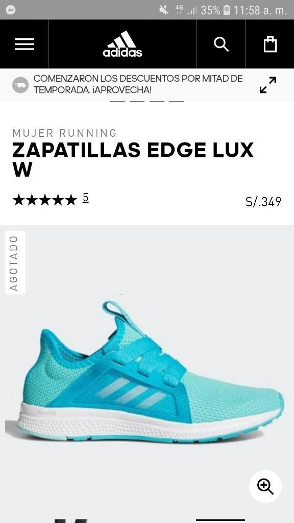 super popular ac02b c1139 Zapatillas Adidas Mujer Bounce Nuevas
