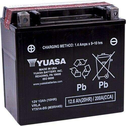 Bateria Yuasa Ytx-14bs Libre De Mantenimiento