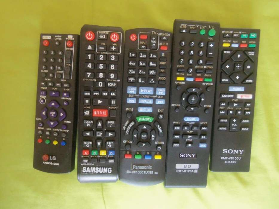 Controles Para BLURAY SONY LG SAMSUNG <strong>panasonic</strong>