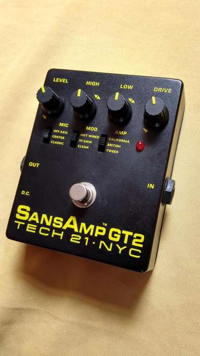 TECH21 SansAmp GT2 (made in USA)