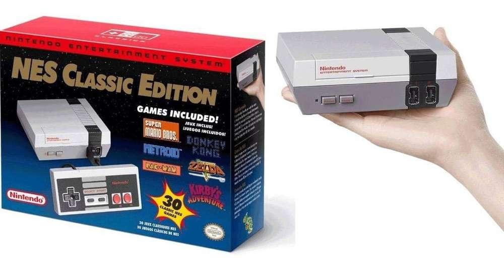 Nintendo Nes Classic Completamente Origi