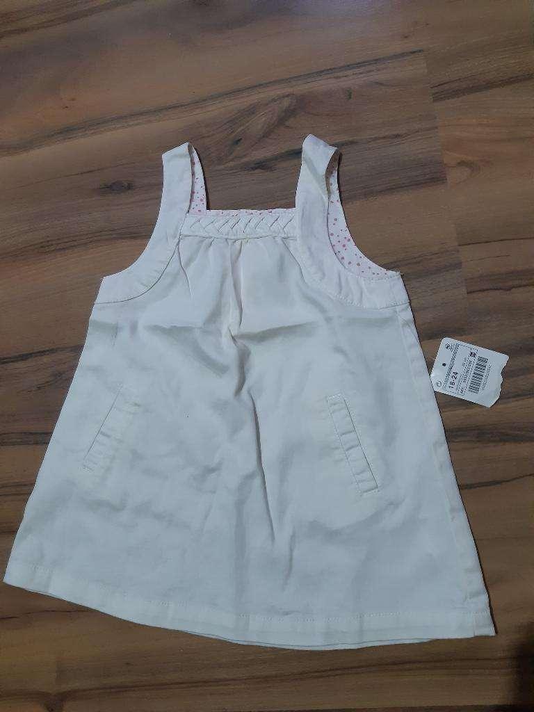 Vestido Zara Baby Importado 18 a 24 Mese