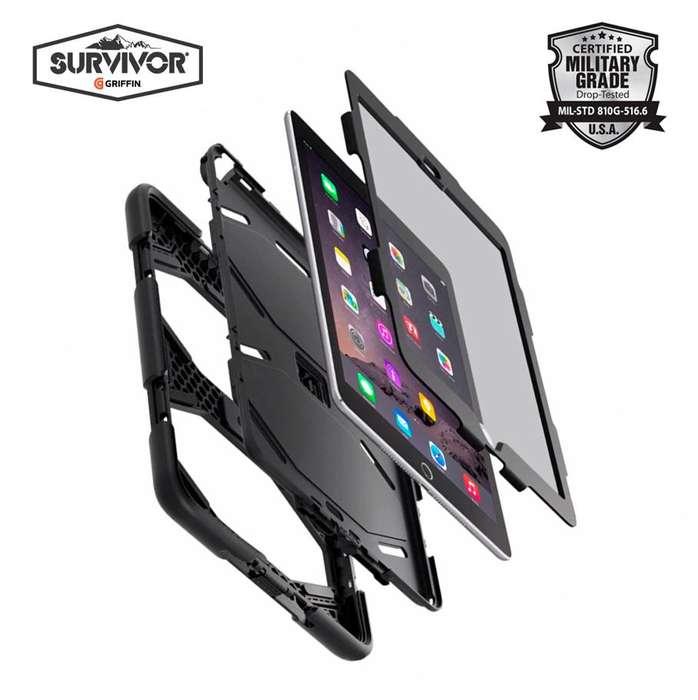 Griffin Survivor 100 Original Case Militar Para Ipad Mini 2, tienda centro comercial