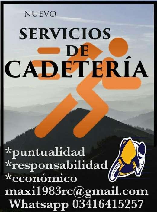 Nuevo Servicios de Cadeteria